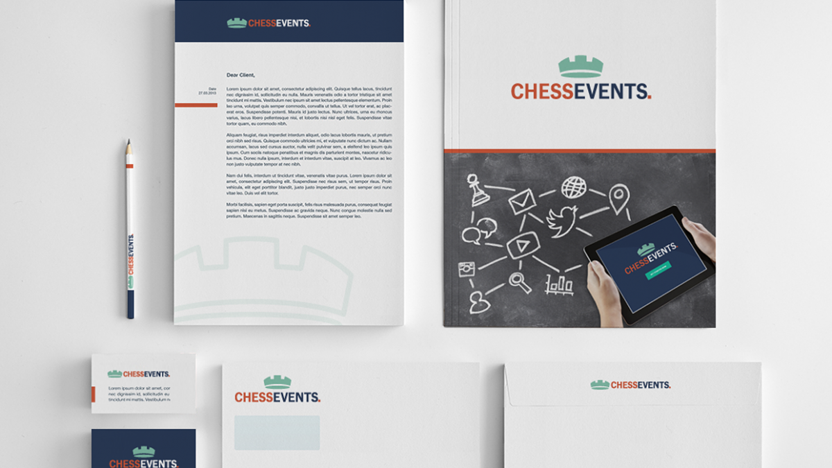 Chess Events Stationery